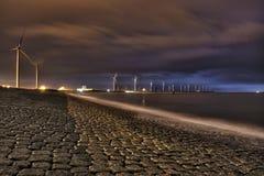 Energie in de haven van Rotterdam Royalty-vrije Stock Afbeeldingen
