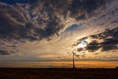 Energie del vento Fotografia Stock