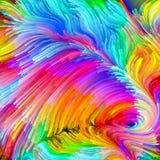Energie der flüssigen Farbe Lizenzfreie Stockbilder