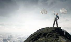 Energie in der guten Idee Lizenzfreies Stockbild