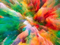 Energie der surrealen Farbe Lizenzfreie Stockbilder