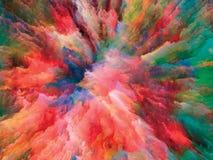 Energie der surrealen Farbe Lizenzfreies Stockfoto