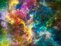 Energie des Kosmos lizenzfreie abbildung