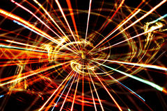Energie di formazione della galassia Immagini Stock