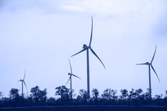 Energie do vento Imagem de Stock