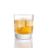 Energie drinkwhisky Fotografering för Bildbyråer