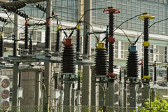 Energie en Elektrische centrale Royalty-vrije Stock Foto