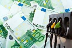 Energie en geld Royalty-vrije Stock Foto's