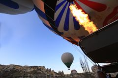 Energie-FO-Helium lizenzfreie stockbilder