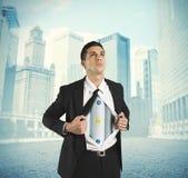 Energie im Geschäft lizenzfreie stockbilder