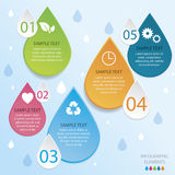Energie Infographic Royalty-vrije Stock Fotografie