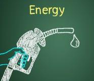 Energie ist am erforderlichsten. Stockfotografie