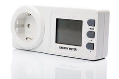 Energie-Meter Lizenzfreie Stockfotografie