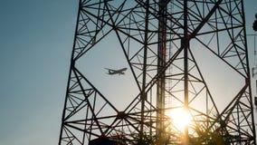 Energie, Pfosten, elektrisch, Draht, Strom, Kabel, Linie, Spannung, Turm, Industrie, elektrisch, Illustration, Technologie, ene lizenzfreie stockbilder