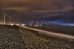 energie portowy Rotterdam obrazy royalty free