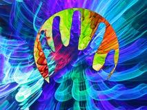 Energie Reiki Stock Afbeeldingen