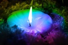 Energie sante della candela Fotografie Stock Libere da Diritti