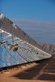 Energie solar Imagen de archivo libre de regalías