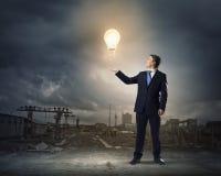 Energie und Energie Lizenzfreie Stockfotos
