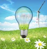 Energie und Natur Stockfoto