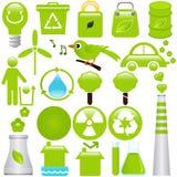 Energie und Umwelterhaltung Stockfotos