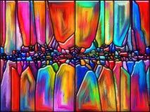 Energie van Glas stock illustratie