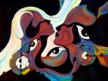 Energie van Kleurenafdeling Stock Afbeelding