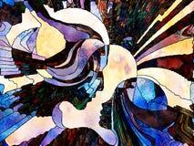 Energie van Kleurenafdeling Royalty-vrije Stock Afbeelding