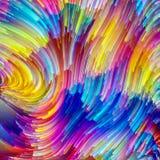 Energie van Schilder Palette stock illustratie