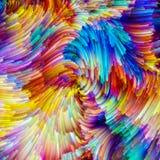 Energie van Schilder Palette royalty-vrije illustratie