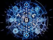 Energie van Symbolische Betekenis royalty-vrije illustratie
