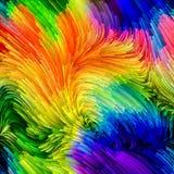 Energie van Vloeibare Kleur stock illustratie