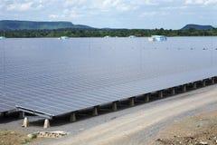 Energie van zonnecel Stock Afbeeldingen