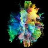 Energie von Farben Stockfotografie