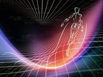 Energie von Geometrie Lizenzfreies Stockfoto