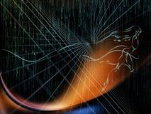 Energie von Geometrie Stockbilder