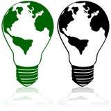 Energie während der Zukunft lizenzfreie abbildung