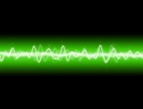 Energie-Welle Stockfoto