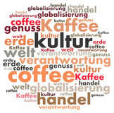 Energie Word Cloud Royalty Free Stock Photography