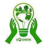 Energieabwehr-Ideenkonzept Stockbild