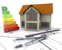 Energiebewertungen Stockbilder