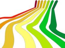 Energiebewertungsdiagramm Stockfotos