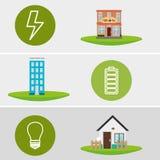 Energiebronnen Stock Foto