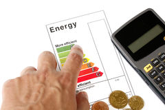 Energieeffizienz Lizenzfreie Stockfotografie