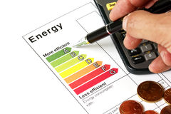 Energieeffizienz Lizenzfreie Stockbilder