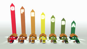 Energieeffizienz Stockfoto