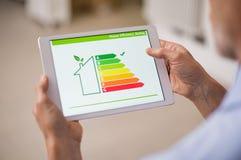 Energieeffizienzhaus Lizenzfreie Stockfotos