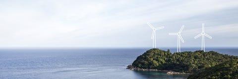 Energieeffizienzkonzepte Stockfoto