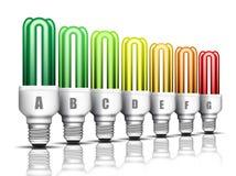 Energieffektivitet royaltyfri illustrationer