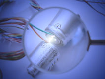 Energieglühen Lizenzfreies Stockbild